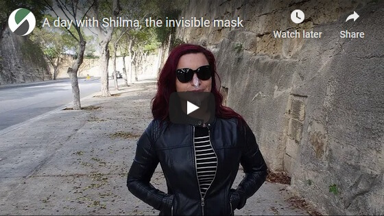 A day with Shilma mask